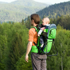 backpack-style baby carrier