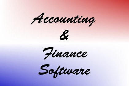 Accounting & Finance Software Image