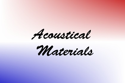 Acoustical Materials Image