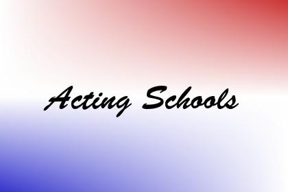 Acting Schools Image