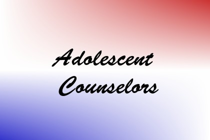Adolescent Counselors Image