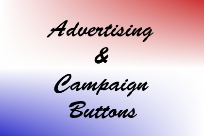 Advertising & Campaign Buttons Image