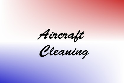 Aircraft Cleaning Image