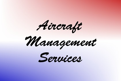 Aircraft Management Services Image