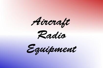Aircraft Radio Equipment Image