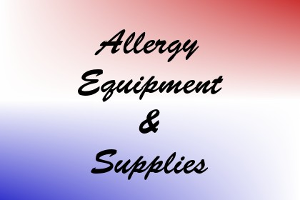 Allergy Equipment & Supplies Image