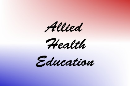 Allied Health Education Image