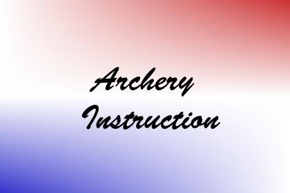 Archery Instruction Image