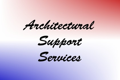 Architectural Support Services Image