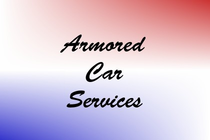 Armored Car Services Image
