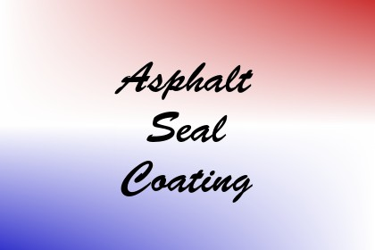 Asphalt Seal Coating Image