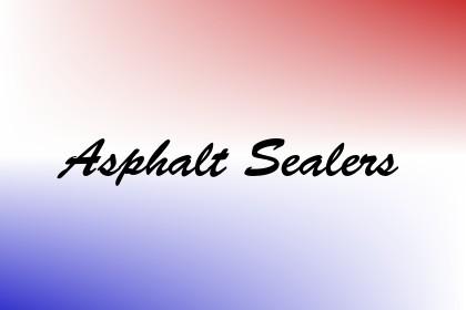 Asphalt Sealers Image