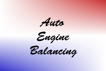 Auto Engine Balancing Image