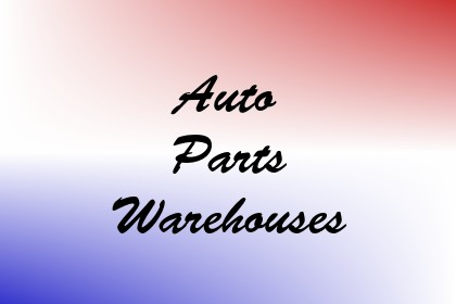 Auto Parts Warehouses Image
