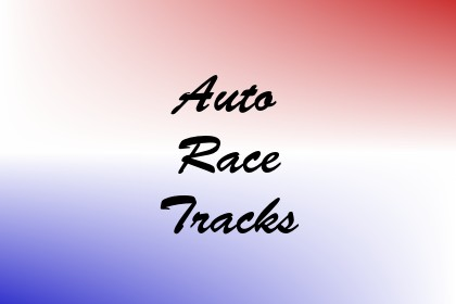 Auto Race Tracks Image