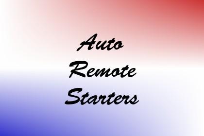 Auto Remote Starters Image