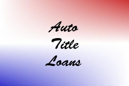 Auto Title Loans Image