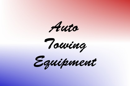 Auto Towing Equipment Image