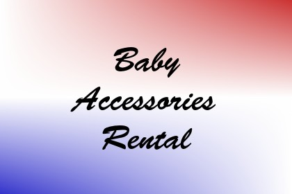 Baby Accessories Rental Image