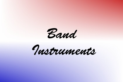 Band Instruments Image