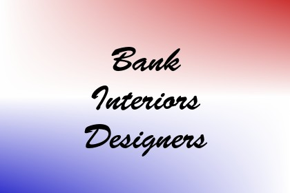 Bank Interiors Designers Image