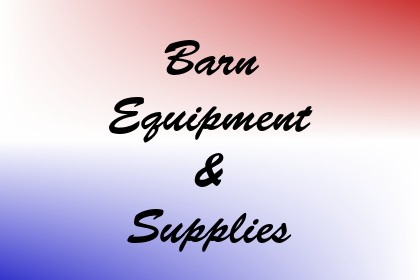 Barn Equipment & Supplies Image