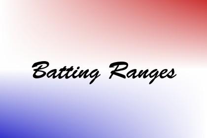 Batting Ranges Image