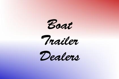 Boat Trailer Dealers Image