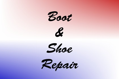 Boot & Shoe Repair Image