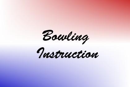 Bowling Instruction Image