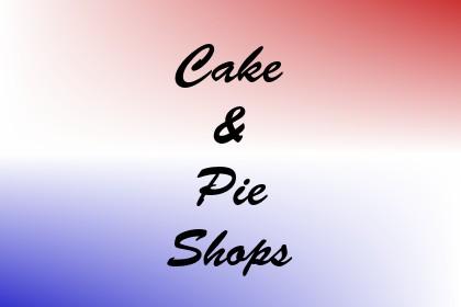 Cake & Pie Shops Image