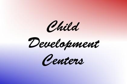 Child Development Centers Image