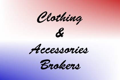 Clothing & Accessories Brokers Image