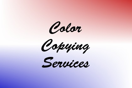 Color Copying Services Image