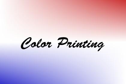 Color Printing Image