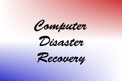 Computer Disaster Recovery Image