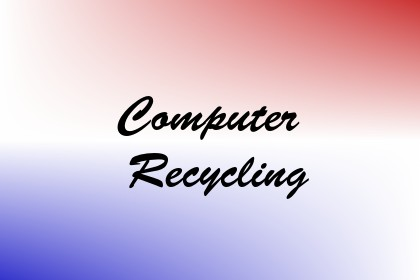 Computer Recycling Image