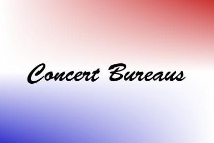 Concert Bureaus Image