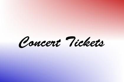 Concert Tickets Image
