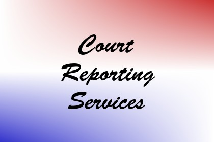 Court Reporting Services Image