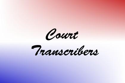 Court Transcribers Image