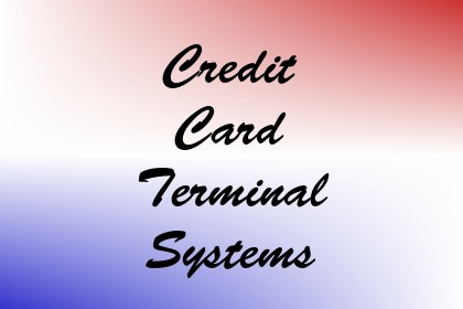 Credit Card Terminal Systems Image
