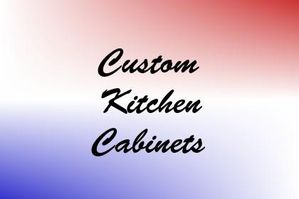 Custom Kitchen Cabinets Image