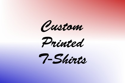 Custom Printed T-Shirts Image
