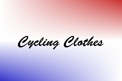 Cycling Clothes Image