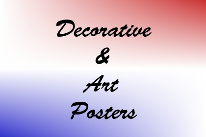 Decorative & Art Posters Image