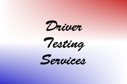Driver Testing Services Image