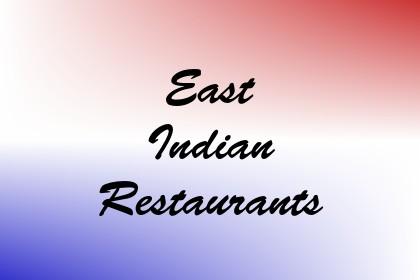 East Indian Restaurants Image