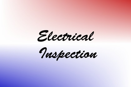 Electrical Inspection Image