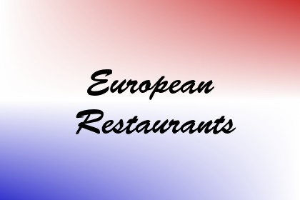 European Restaurants Image